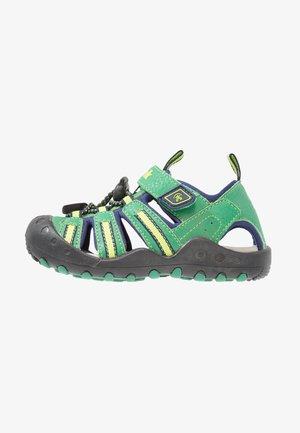 CRAB - Chodecké sandály - green
