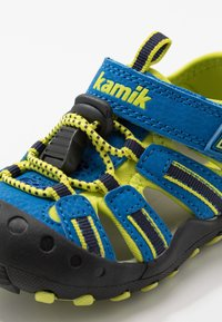 Kamik - CRAB - Sandały trekkingowe - strong blue - 2