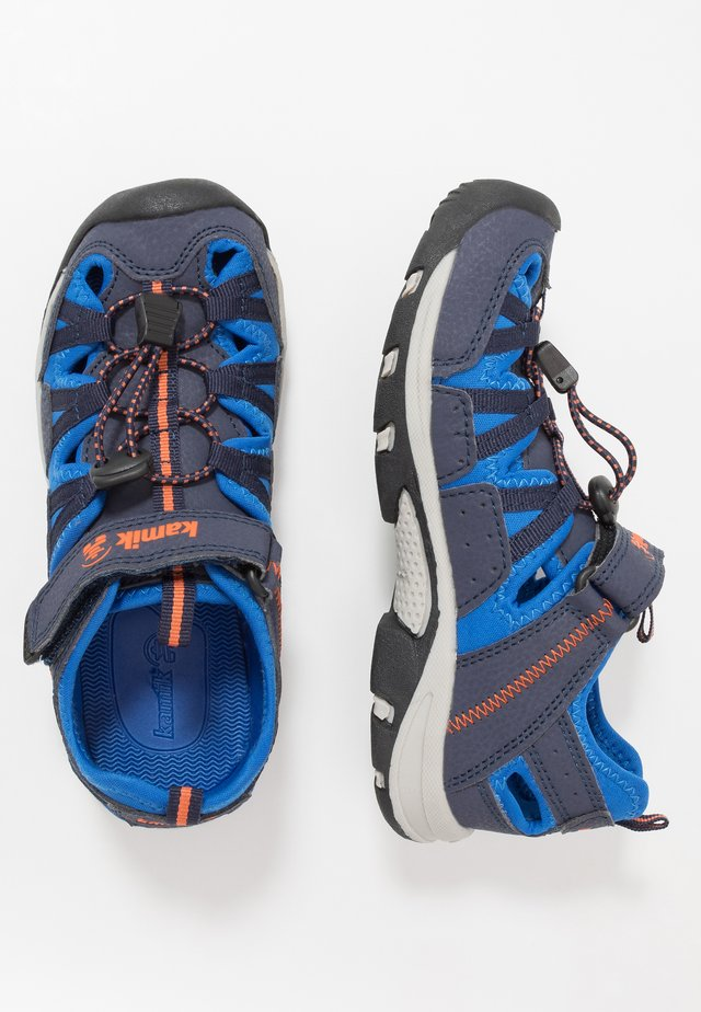 WILDCAT - Chodecké sandály - navy/marine