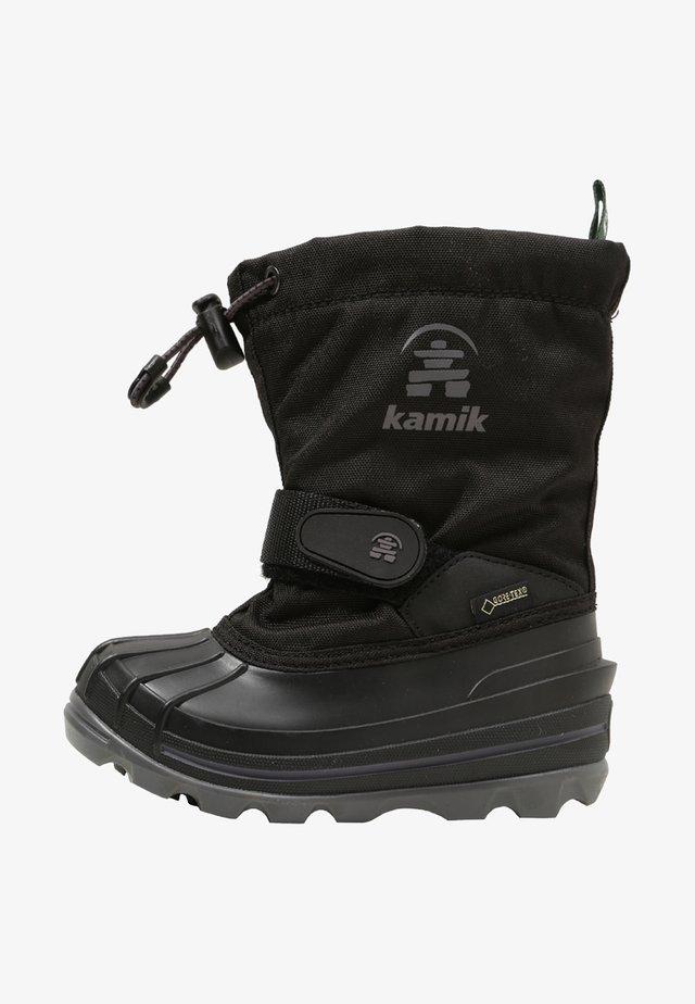 WATERBUG - Zimní obuv - black