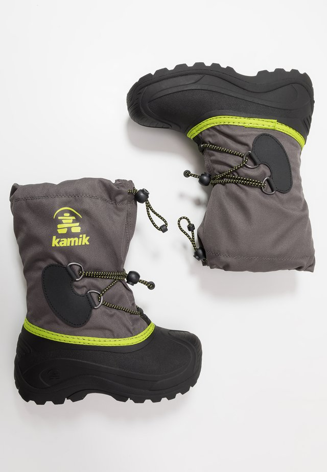 SOUTHPOLE4 - Winter boots - charcoal/charbon