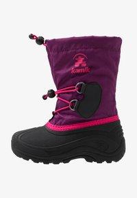 Kamik - SOUTHPOLE4 - Winter boots - grape/raisin - 1