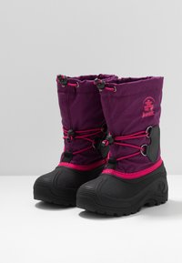 Kamik - SOUTHPOLE4 - Winter boots - grape/raisin - 3