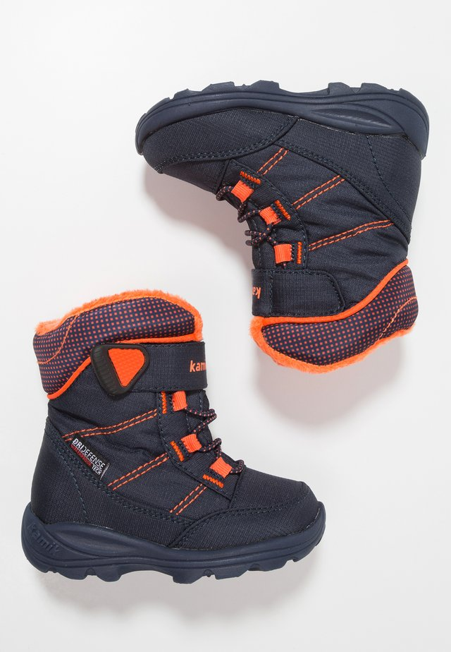 STANCE - Winter boots - navy/flame