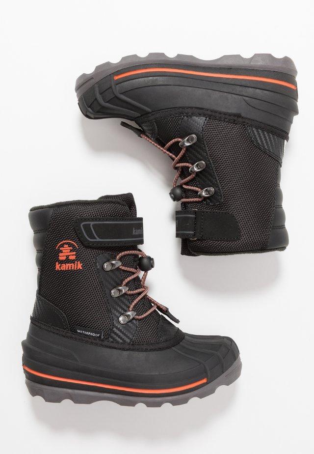 CHUCK - Snowboots  - black