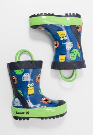MONSTERS - Wellies - blue