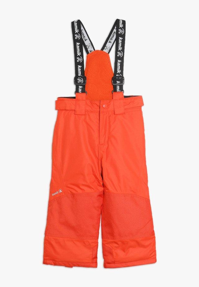 HARPER - Zimní kalhoty - tomato
