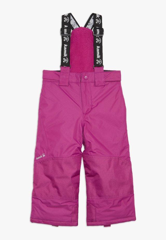 HARPER - Zimní kalhoty - berry