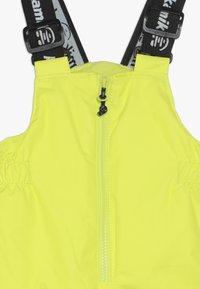 Kamik - WINKIESOLD - Snow pants - neon yellow - 4