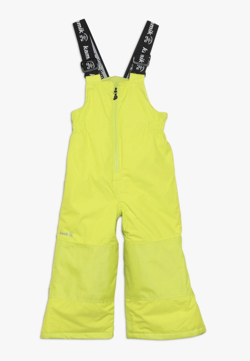 Kamik - WINKIESOLD - Snow pants - neon yellow
