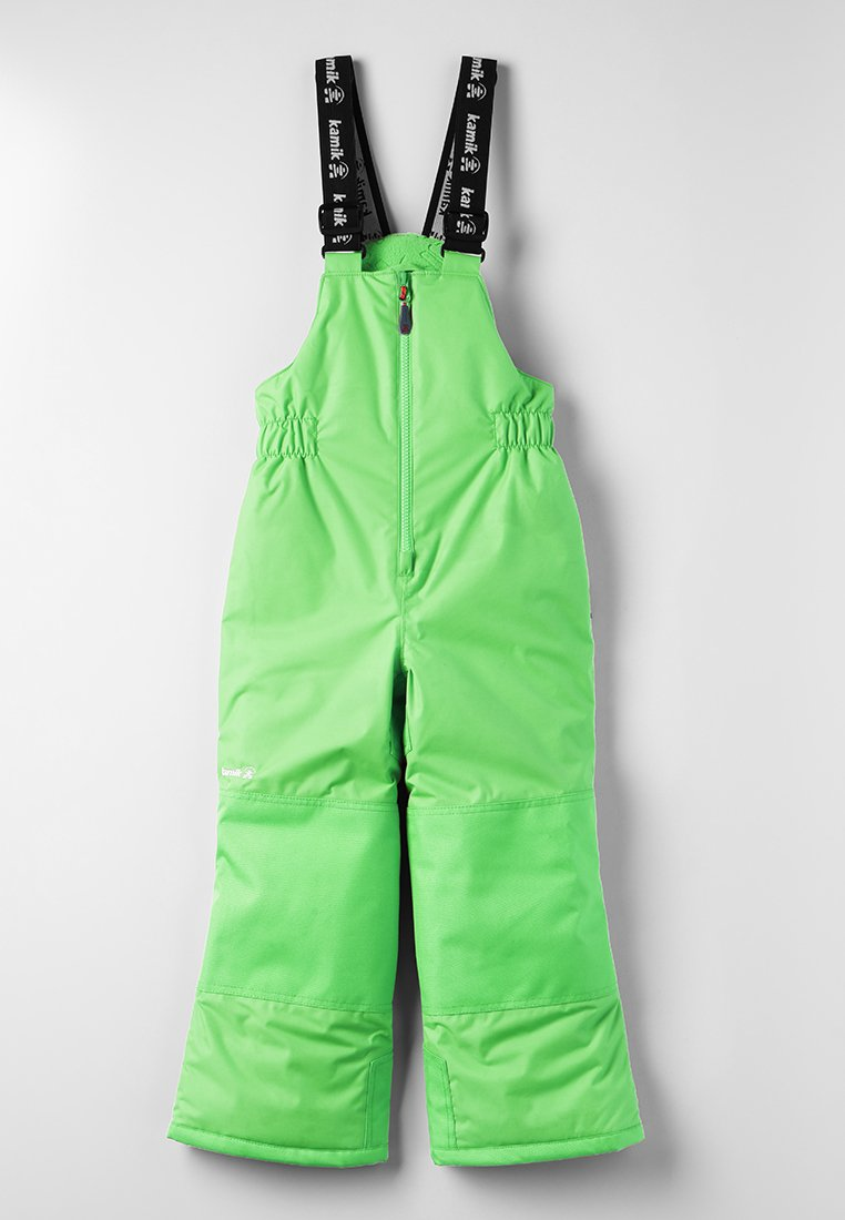 Kamik - WINKIESOLD - Snow pants - lime/citron vert