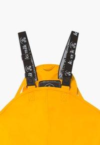 Kamik - MUDDY - Rain trousers - yellow - 3