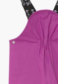 Kamik - MUDDY - Rain trousers - violet - 3