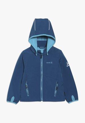 MIT MAGIC OBERFLÄCHE - Softshellová bunda - blue
