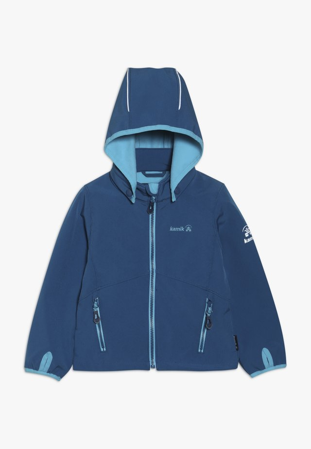 MIT MAGIC OBERFLÄCHE - Giacca softshell - blue