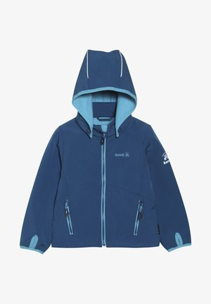 MIT MAGIC OBERFLÄCHE - Veste softshell - blue