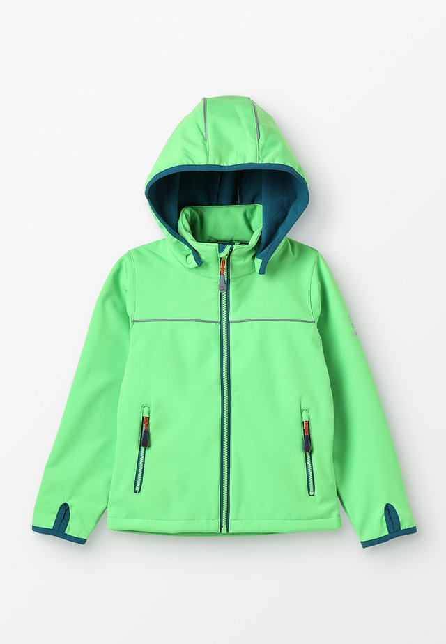 JARVIS MIT MAGIC OBERFLÄCHE - Giacca softshell - lime