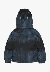 Kamik - RUSTY BAMBOOM - Hardshell jacket - black/petrol - 1