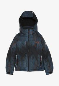 Kamik - RUSTY BAMBOOM - Hardshell jacket - black/petrol - 4