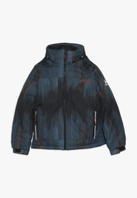 Kamik - RUSTY BAMBOOM - Hardshell jacket - black/petrol - 2