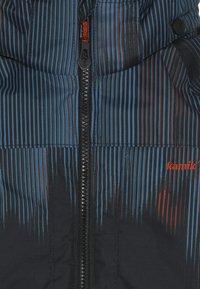 Kamik - RUSTY BAMBOOM - Hardshell jacket - black/petrol - 5