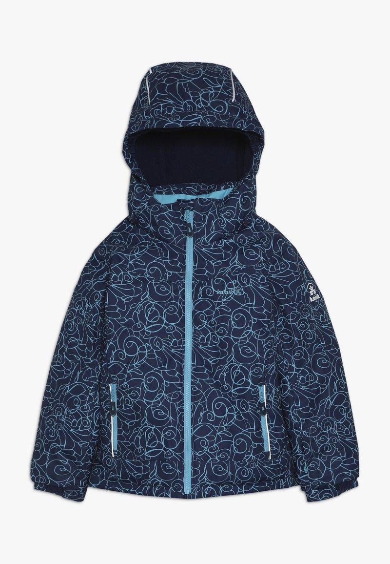 Kamik - TESSIE TIPTOE - Winterjas - dark blue/turquoise