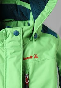 Kamik - LAZER - Snowsuit - lime/citron vert - 3