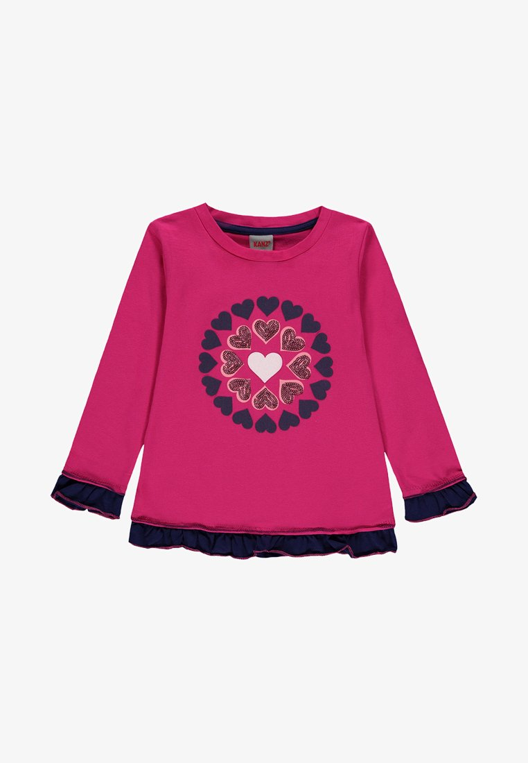 Kanz - Long sleeved top - pink peacock