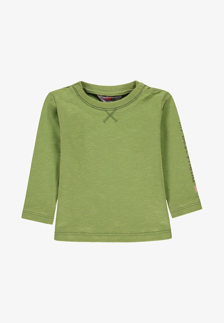 Kanz - Long sleeved top - piquant green