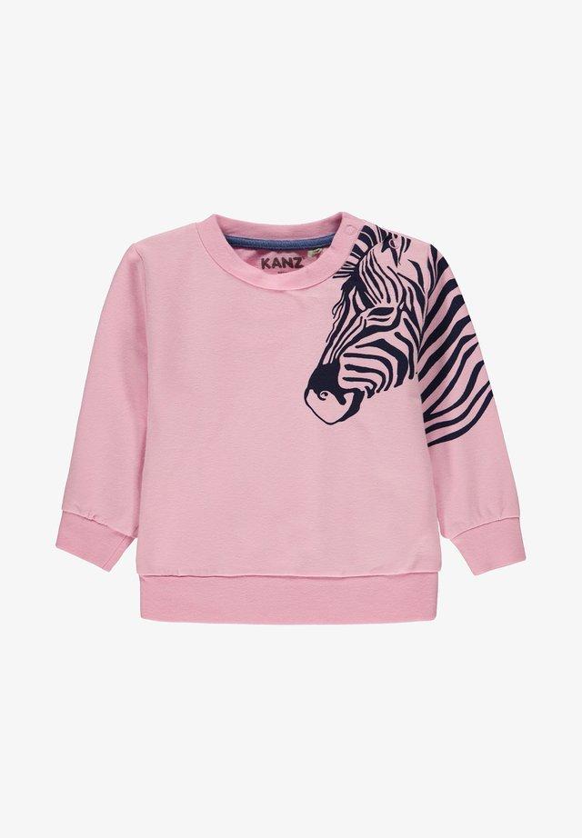 MIT ZEBRA - Sweatshirt - lilac sachet