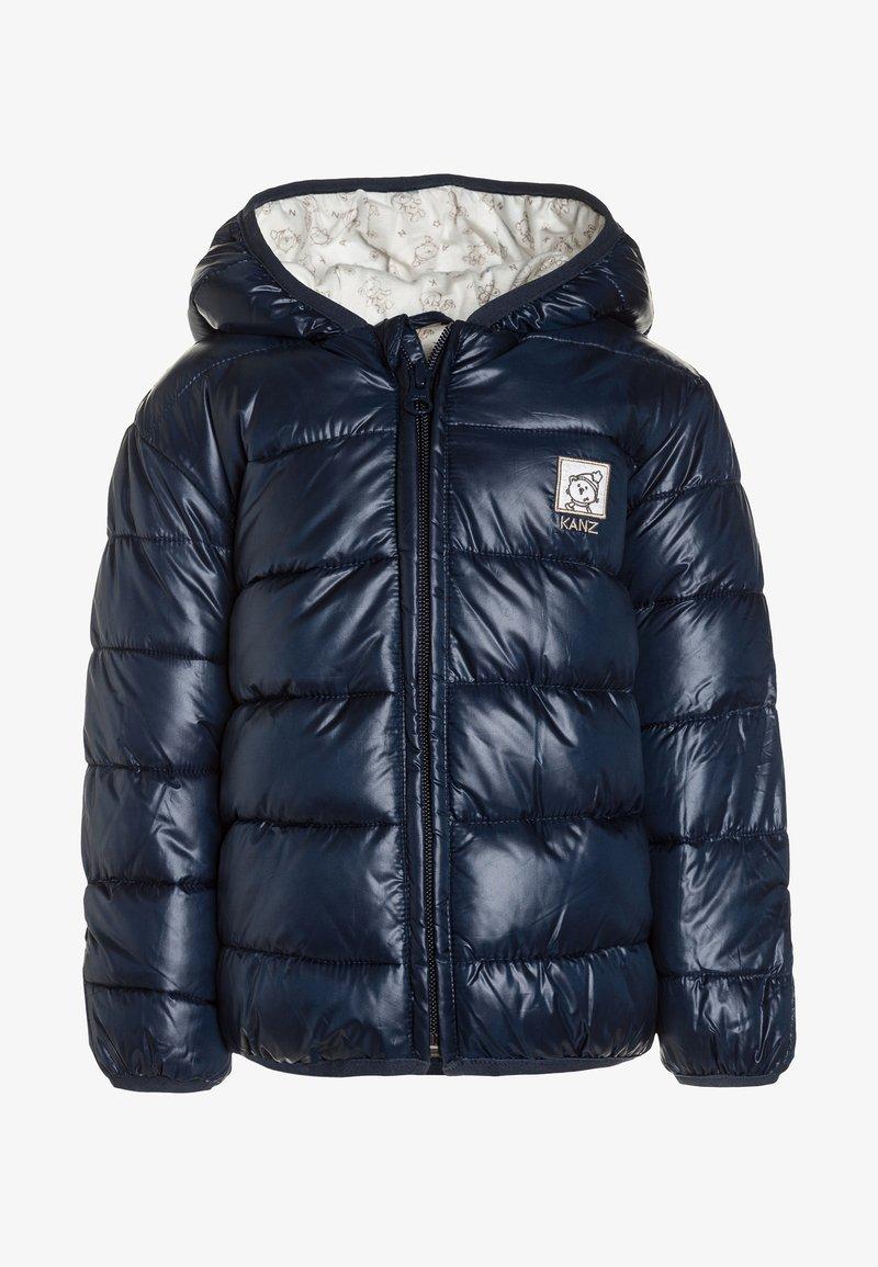 Kanz - FROSTY TIMES ANORAK KAPUZE - Winter jacket - dress blue