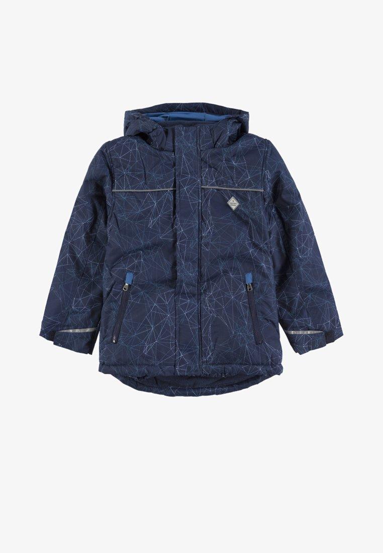 Kanz - MIT ABNEHMBARER KAPUZE  - Winter jacket - blue
