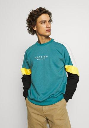CREW SETH AQUA UNISEX - Sweater - teal