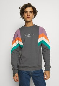 Kaotiko - CREW SEATTLE UNISEX - Sweater - dark grey - 0