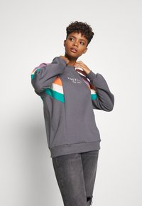 Kaotiko - CREW SEATTLE UNISEX - Sweater - dark grey - 3