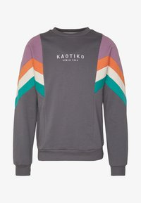 Kaotiko - CREW SEATTLE UNISEX - Sweater - dark grey - 5