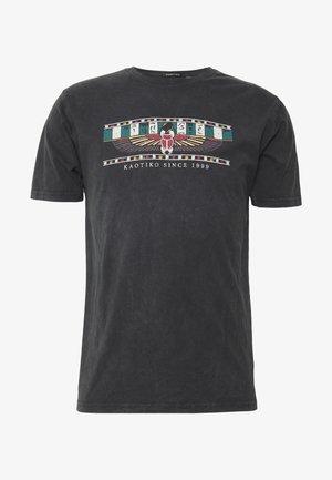 TIE DYE EGYP - T-shirt con stampa - dark grey