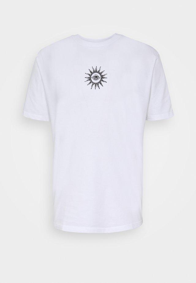 UNISEX NEW ORDER - T-shirt med print - white