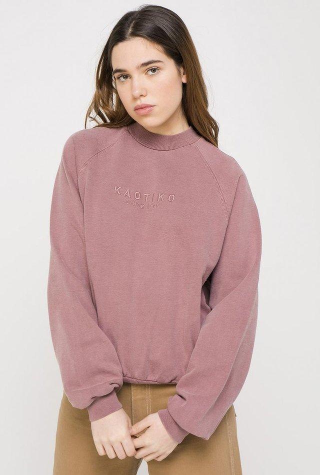 TIE-DYE ABDY  - Sweatshirt - poudre