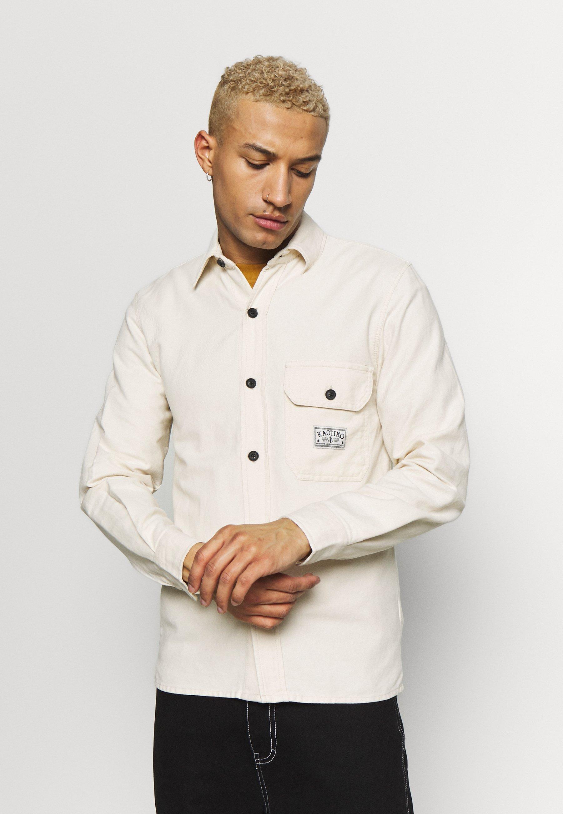 Kaotiko CAMISA URBAN - Koszula - off white