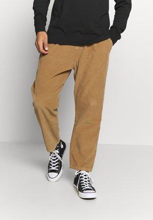 PANT SWING BOB PANA - Pantaloni - brown