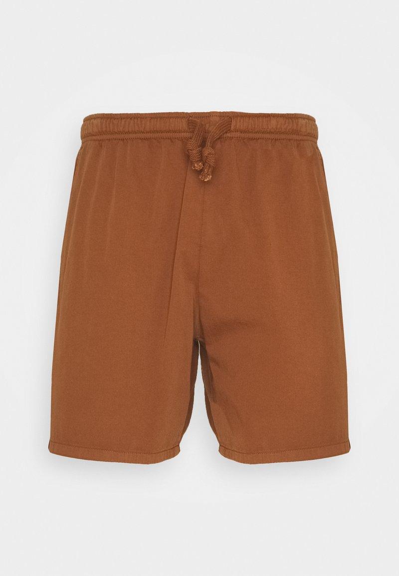Kaotiko - BERMUDA BEACH TEJA - Shorts di jeans - brown