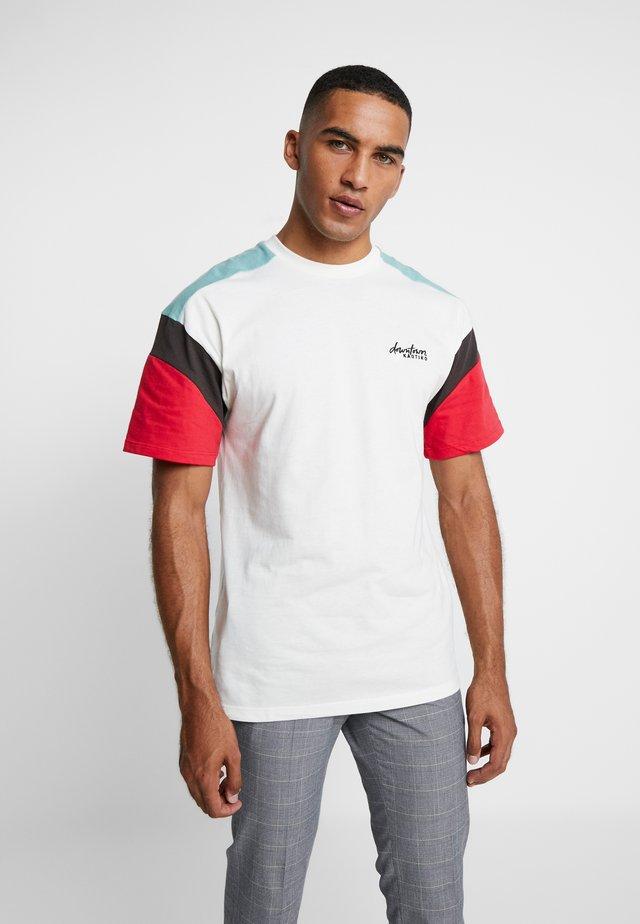 ZALANDO  - T-Shirt print - white  red