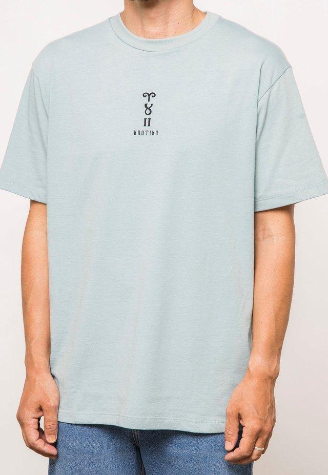 HOROSKOP LOGOS - Print T-shirt - blue
