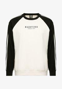 Kaotiko - Sweatshirt - white/black - 3