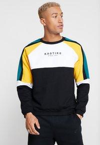 Kaotiko - Sweater - black/white/yellow - 0
