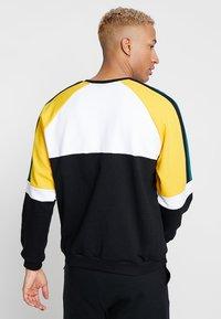 Kaotiko - Sweater - black/white/yellow - 2