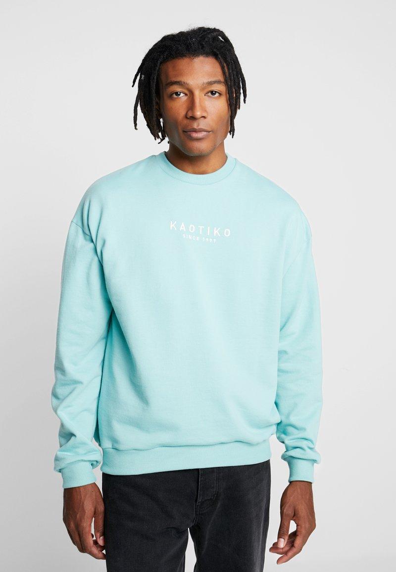 Kaotiko - CREW ALAN - Sweatshirt - light blue