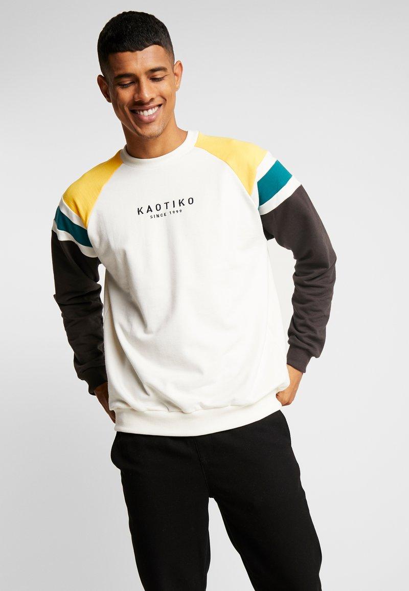Kaotiko - Sweater - white/black