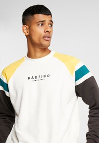 Kaotiko - Sweater - white/black - 3